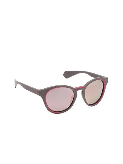 Polaroid Unisex Pink Round Sunglasses PLD 6065/S 79U 520J