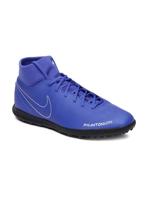 Nike Men Blue Phantom VSN Club DF TF Football Shoes