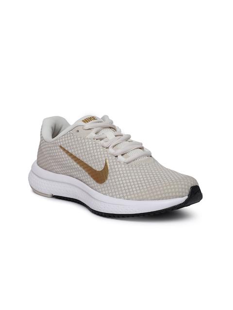 Nike Women Beige RUNALLDAY Running Shoes