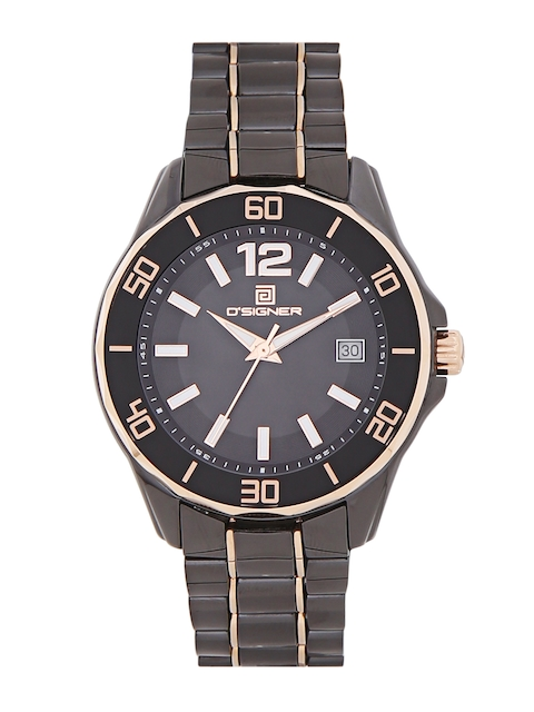 Dsigner Men Black Analogue Watch 735RGBCR.3