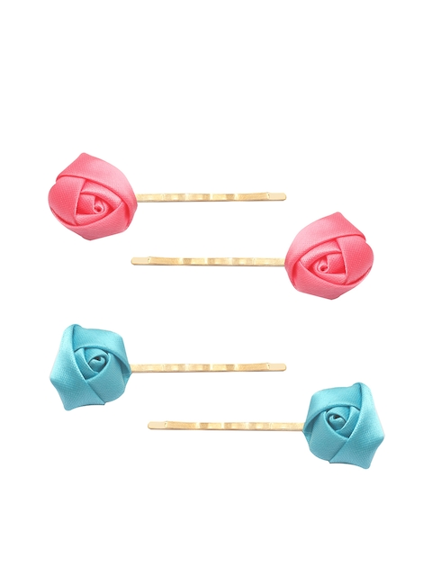 Stoln Girls Blue & Pink Comb Pin