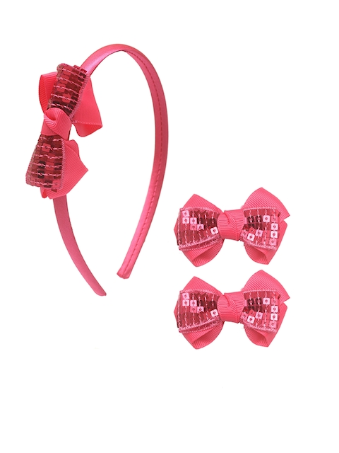 Stoln Girls Pink Set of 2 Hair Accessory