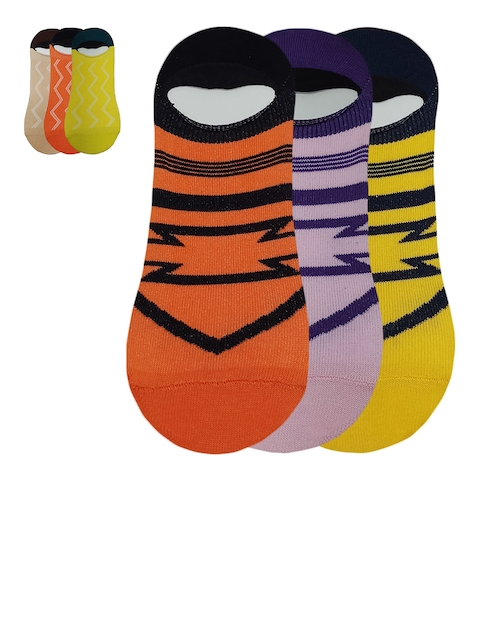 Fontana Pack of 6 Assorted Socks