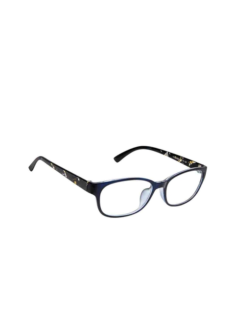Cardon Unisex Blue Solid Full Rim Rectangle Frames EWCD1730NEO6062C3