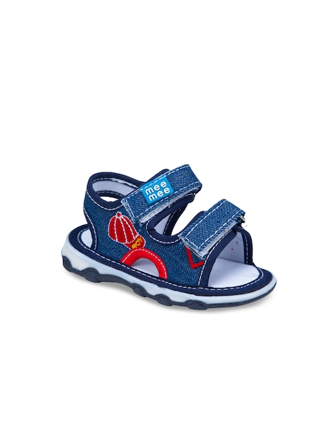 MeeMee Boys Blue Squeaky Comfort Sandals