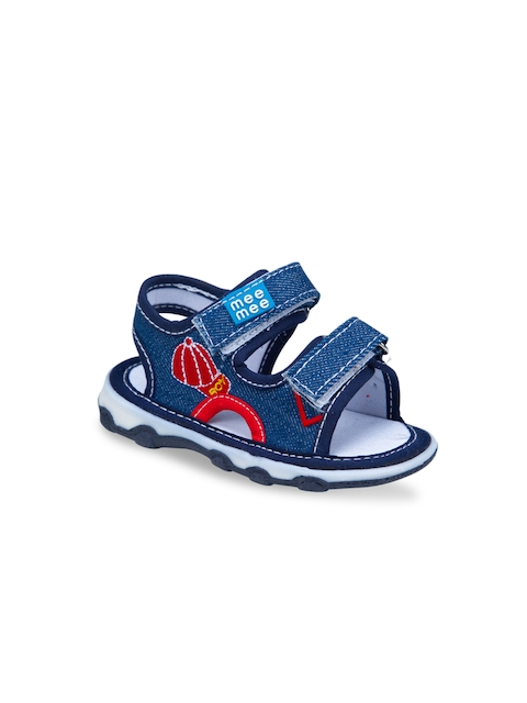 MeeMee Boys Navy Blue Squeaky Comfort Sandals
