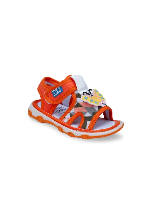 MeeMee Boys Orange Comfort Sandals