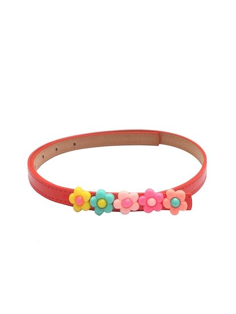 Stoln Girls Red Solid Belt