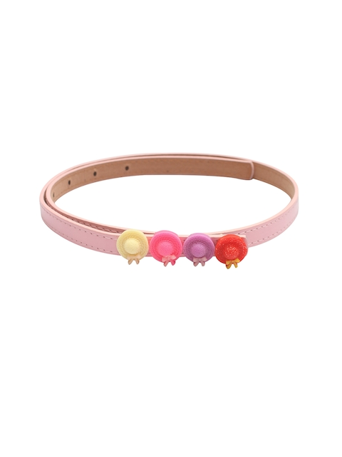 Stoln Girls Pink Solid Belt