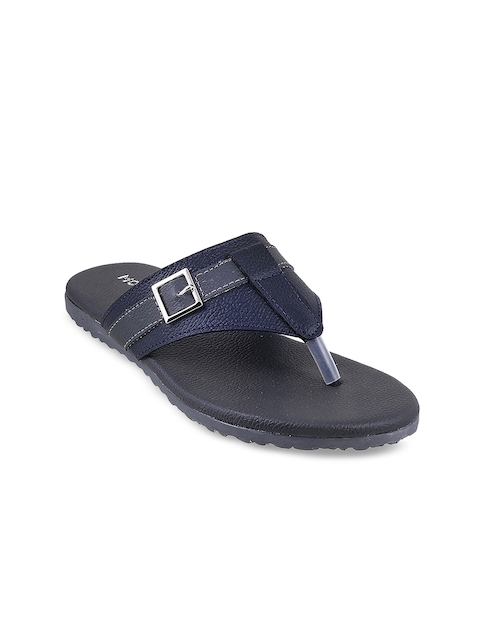 Mochi Boys Navy Blue Comfort Sandals