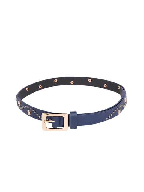 Globus Women Navy Blue Embellished Belt