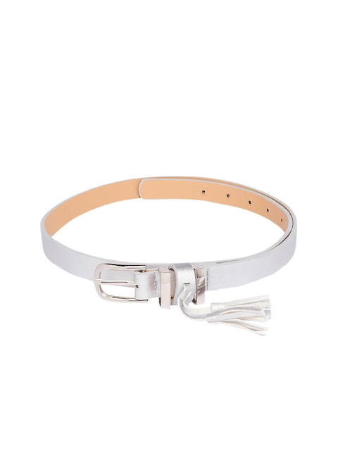 Globus Women Silver-Toned Solid Belt