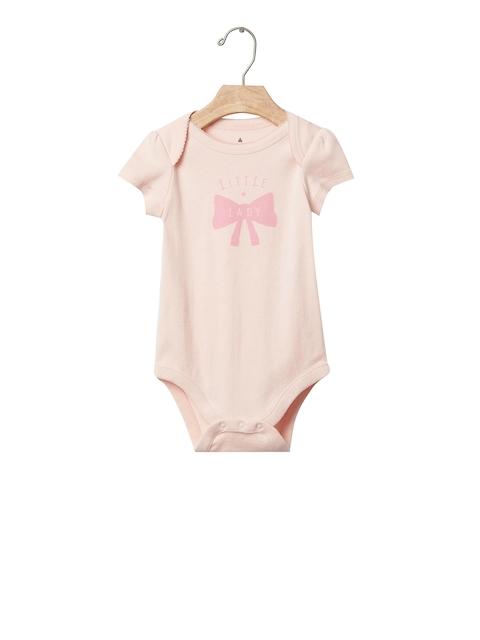 GAP Pink Girls Little Lady Bodysuit