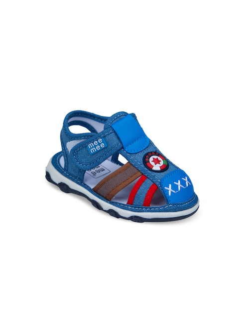 MeeMee Boys Blue Fisherman Sandals