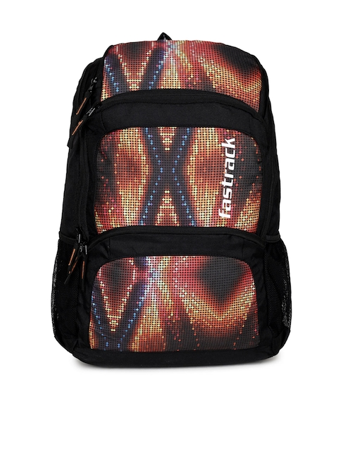 Fastrack Unisex Multicoloured Graphic Backpack