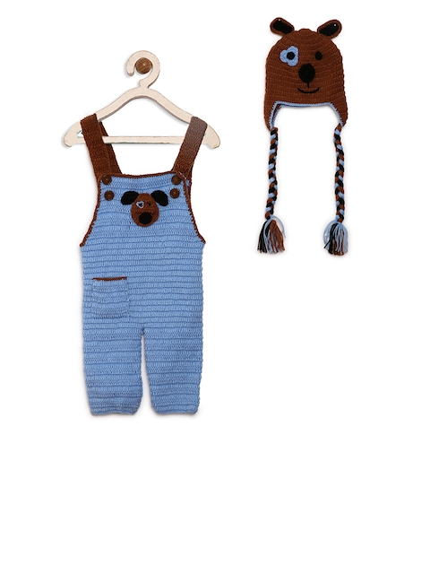 CHUTPUT Unisex Blue Clothing Set