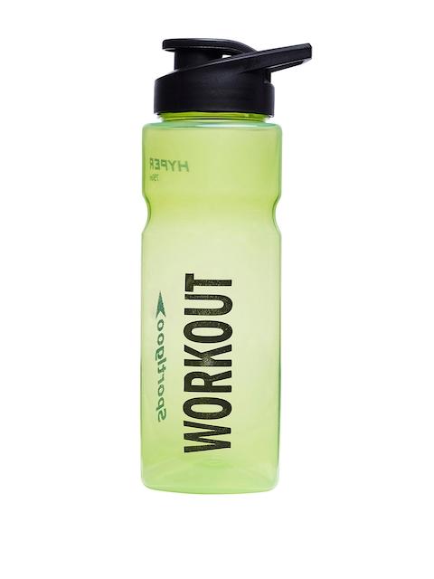 Sportigoo Men Green & Black HYPER Translucent Water Bottle 750 ML