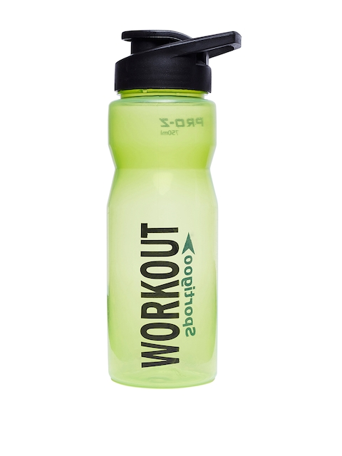 Sportigoo Men Green & Black PRO-Z Translucent Water Bottle 750 ML