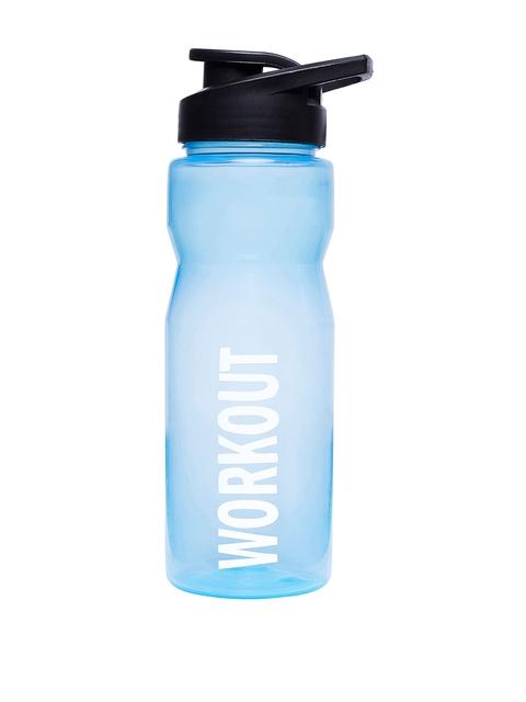 Sportigoo Men Blue & Black PRO-Z Translucent Water Bottle 750 ML
