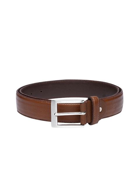 U.S. Polo Assn. Men Brown Leather Belt