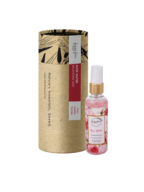 Fizzy Fern Rose Water Balancing Mist, 100ml