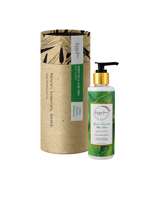 Fizzy Fern Green Tea & Aloe Vera Body Lotion, 190ml
