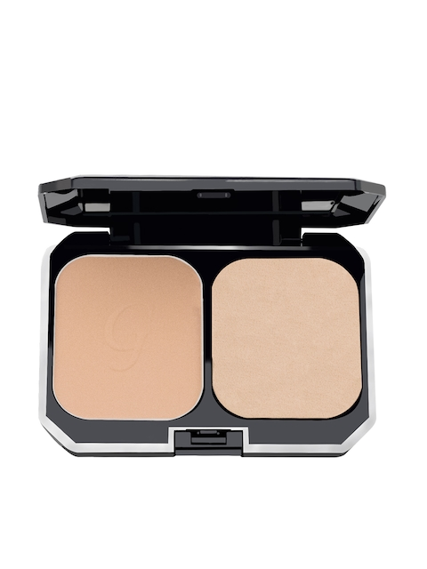 GlamGals Women 2 in 1 Two Way Cake Makeup Compact & Earth Glow SPF 15 Foundation