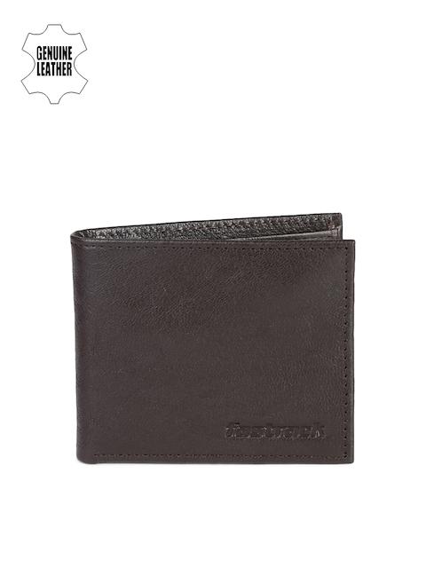 Fastrack Men Brown Genuine Leather Wallet