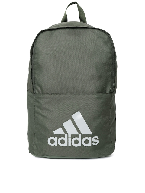 Adidas Unisex Olive Green Classic Backpack