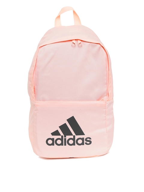 Adidas Unisex Pink CLASSIC BP Brand Logo Backpack