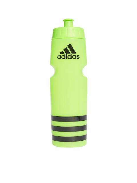ADIDAS Green & Black Striped Performance Training Sipper Bottle 750 ml