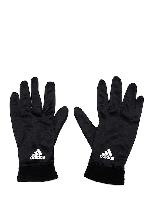 ADIDAS Unisex Black Climawarm Touchscreen Compatible Gloves