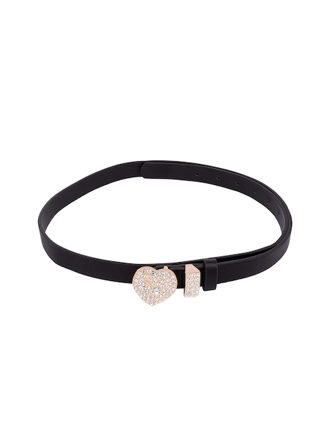 Globus Women Black Embellished Belt