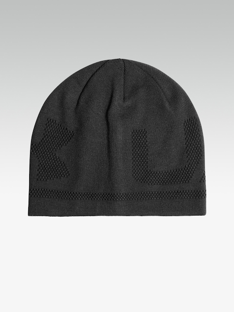 ef8c0d08307 Under Armour Men Black Billboard 3.0 Patterned Beanie