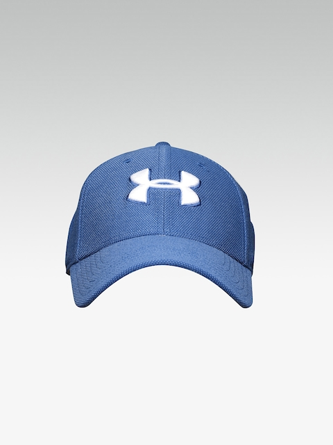 UNDER ARMOUR Men Blue Heathered Blitzing 3.0 Cap