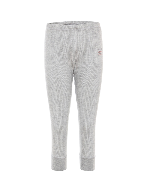 VIMAL JONNEY Girls Grey Melange Thermal Set