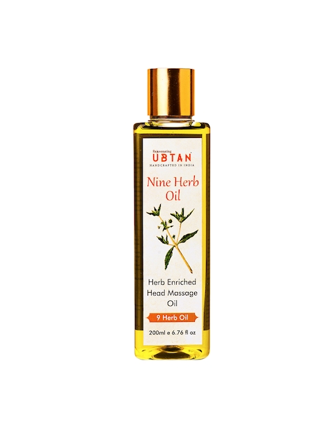 Rejuvenating UBTAN 9 Herb Enriched Head Massage Oil 200ml