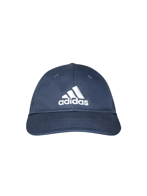 new product 4e626 cdacc Adidas Men Navy Blue 6P Solid Baseball Cap