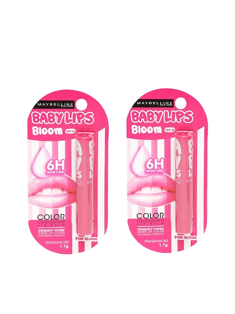 Maybelline Pack of 2 Baby Lips Pink Bloom Lip Balm