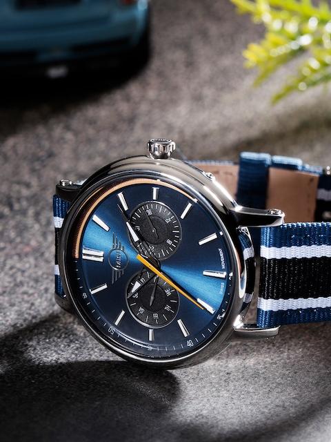 MINI Men Navy Blue Analogue Watch 160911_OR11