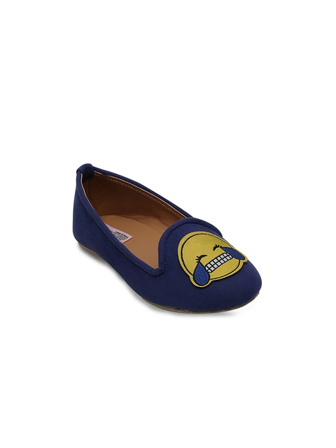 DChica Girls Blue Loafers