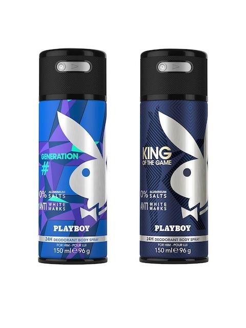 Playboy Men Set of 2 King + Generation Fragrance Gift Set