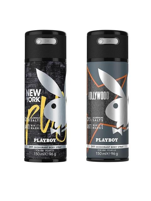 Playboy Men Set of 2 Body Spray 150 ml each