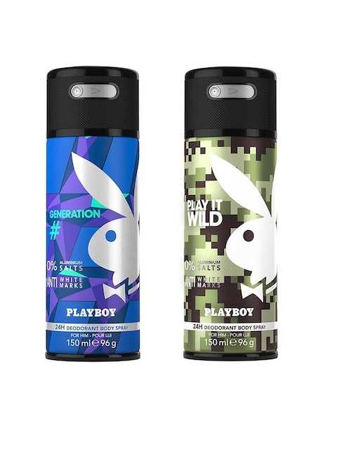 Playboy Set of 2 Generation + Wild Deo Fragrance Gift Set