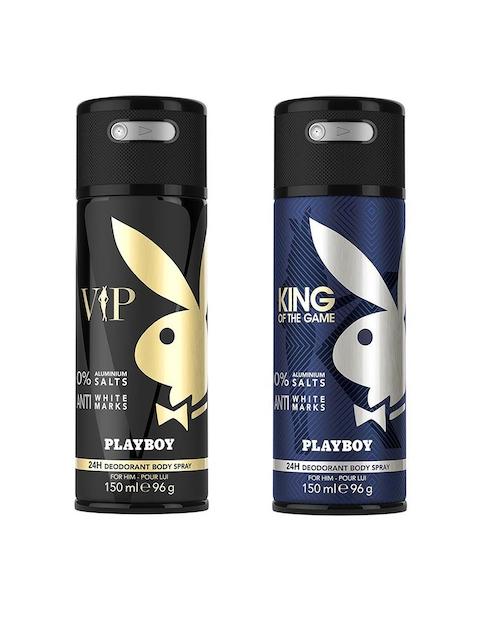 Playboy Men Set of 2 VIP + King Fragrance Gift Set