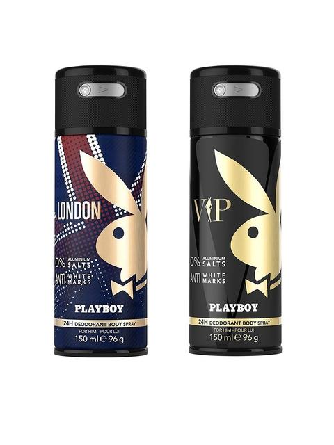 Playboy Pack Of 2 Deodarants