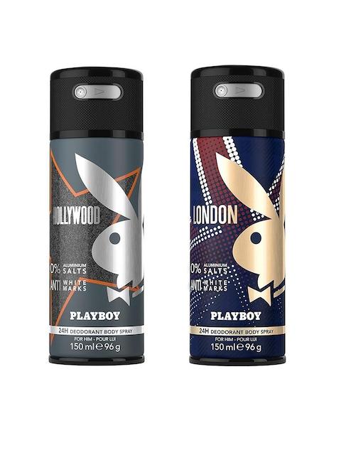 Playboy Men Pack of 2 Deodarants
