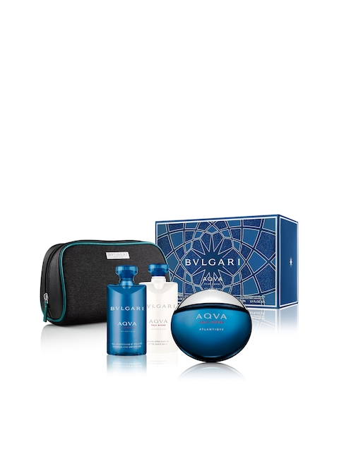 Bvlgari Atlantique Set of 3 Fragrance Gift Set (EDT100ml+SSG75ml+ASB75ml)