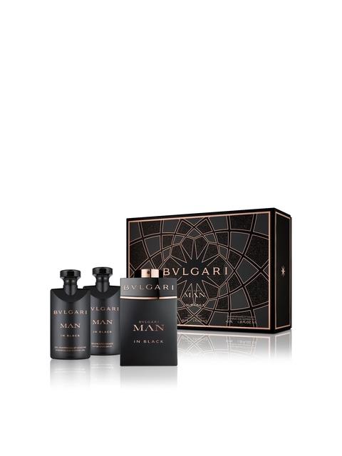 Bvlgari Man In Black Gift Set (EDP 60ml+SSG 40ml+ASB 40ml)