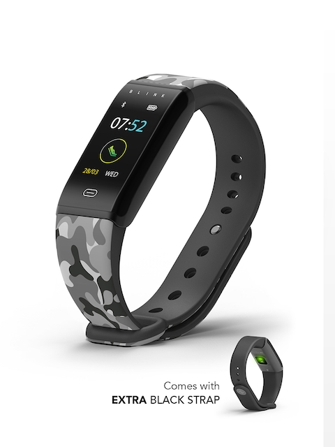 Blink GO Carbon Black Fitness Wearable Band